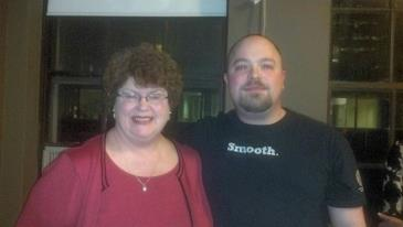Eytan with Charlaine Harris